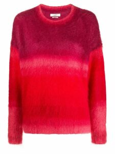 Isabel Marant Étoile two tone panelled jumper - Red
