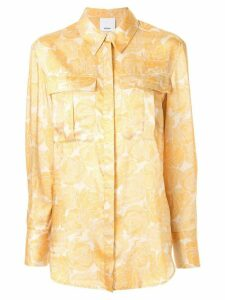 Acler Wallace shirt - Yellow