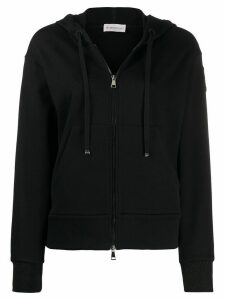 Moncler full-zipped hoodie - Black