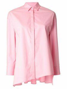 Enföld asymmetric loose-fit shirt - PINK