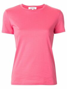 Enföld crew-neck cotton T-shirt - PINK