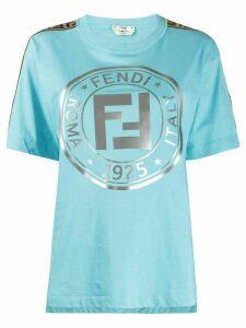 Fendi 1925 logo T-shirt - Blue