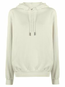 Off-White Arrow logo hooded sweatshirt - NEUTRALS