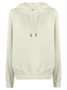 Off-White Arrow logo hooded sweatshirt - NEUTRALS