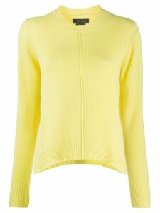 Isabel Marant crew neck jumper - Yellow