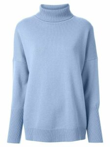 Chinti and Parker cashmere turtle neck jumper - Blue