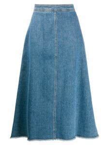 Philosophy Di Lorenzo Serafini A-line denim skirt - Blue
