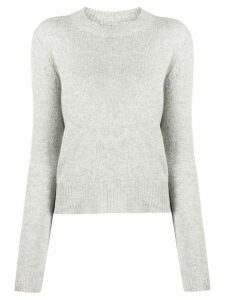 Isabel Marant slim fit jersey top - Grey