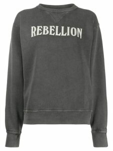 Isabel Marant Étoile Rise 'rebellion' sweatshirt - Grey