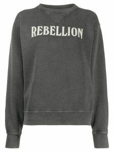 Isabel Marant Étoile Rise 'rebellion' sweatshirt - Grey