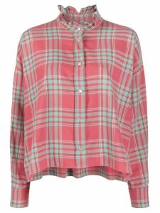 Isabel Marant Étoile Ilaria check shirt - PINK