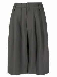 Brunello Cucinelli high-waisted knee-length shorts - Grey