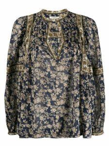 Isabel Marant Étoile Violette floral-print blouse - Blue