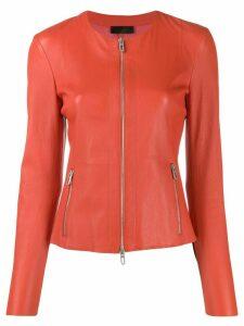 Drome round neck jacket - Red