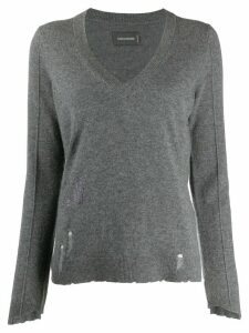 Zadig & Voltaire slim fit jumper - Grey
