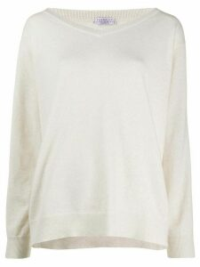 Brunello Cucinelli loose-fit jumper - NEUTRALS