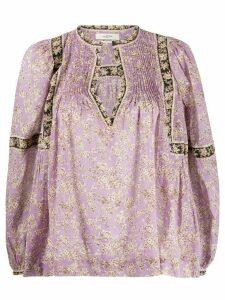 Isabel Marant Étoile Violette floral-print blouse - PURPLE