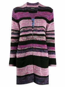 Zadig & Voltaire striped open front cardigan - PINK