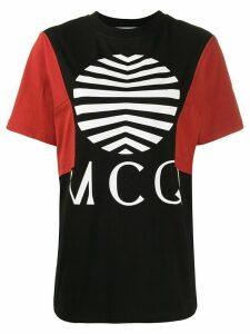 McQ Alexander McQueen logo print oversized T-shirt - Black