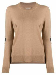 Zadig & Voltaire Shany stud-embellished jumper - NEUTRALS
