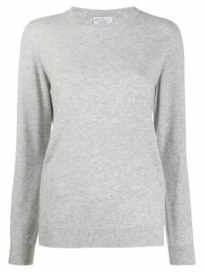 Brunello Cucinelli relaxed cashmere jumper - Grey