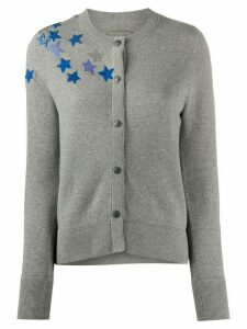 Zadig & Voltaire embellished star cardigan - Grey