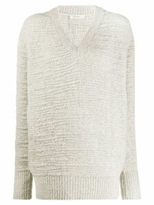 The Row V-neck jumper - NEUTRALS