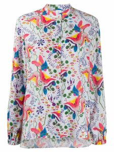 PS Paul Smith floral print shirt - PURPLE