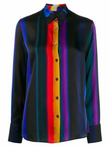 PS Paul Smith rainbow stripe shirt - Black