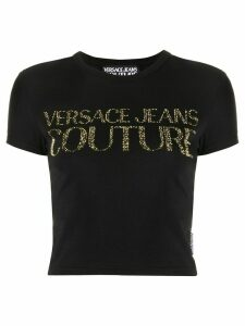 Versace Jeans Couture studded logo T-shirt - Black