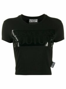 Versace Jeans Couture printed logo T-shirt - Black