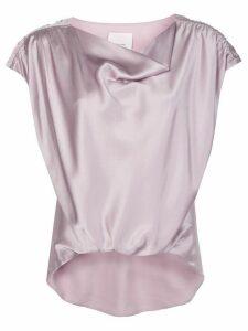Cinq A Sept Adriana silk top - PINK