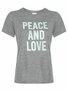Cinq A Sept Peace And Love T-shirt - Grey