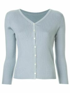 Tomorrowland ribbed V-neck cardigan - Blue