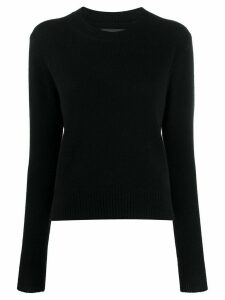 Isabel Marant slim fit jumper - Black
