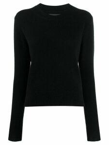 Isabel Marant slim fit jumper - Black