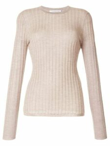 Gabriela Hearst Collins long sleeve knit top - NEUTRALS