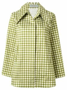 Silvia Tcherassi Gabrielle gingham checked shirt - Green