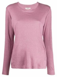 Isabel Marant Étoile long sleeved top - PINK