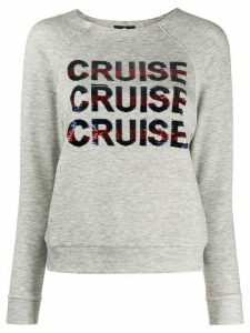 Elisabetta Franchi cruise sweatshirt - Grey