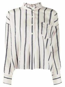 Isabel Marant Étoile Olena ruffle neck shirt - PINK