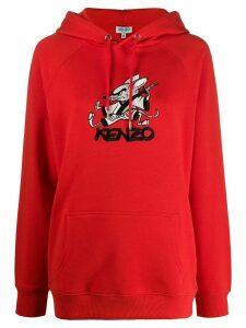 Kenzo Kung Fu Rat hoodie - Red