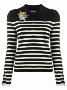 Zadig & Voltaire Delly striped jumper - White