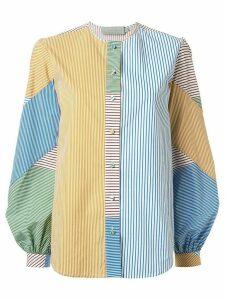 Silvia Tcherassi block colour Filia blouse - Yellow