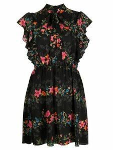 RedValentino floral print dress - Black