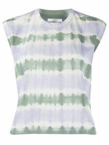 Isabel Marant Étoile Anette tie-dye print top - PURPLE