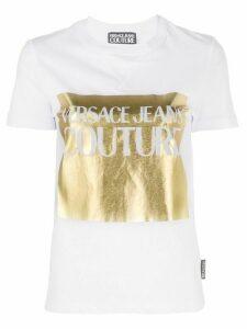 Versace Jeans Couture foil logo T-shirt - White