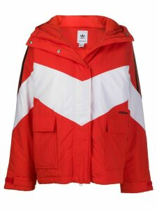 adidas Iconic Winter hooded jacket - Red