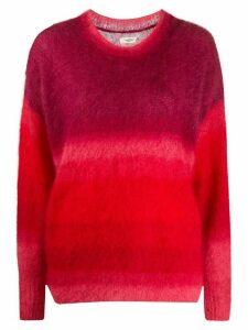 Isabel Marant Étoile Drussell ombré-effect jumper - Red