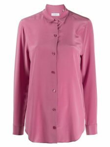 Equipment Essential regular-fit silk shirt - PINK